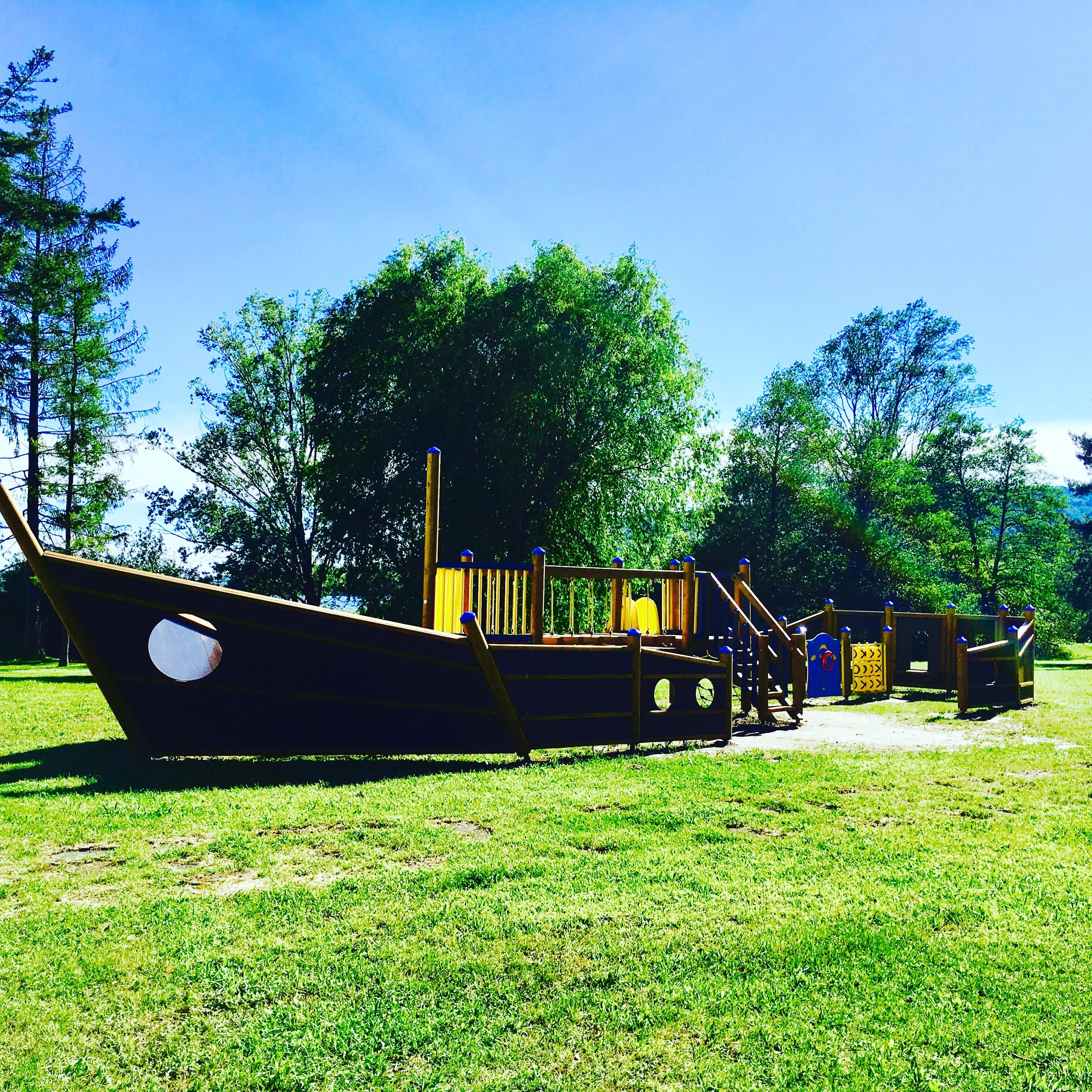 Area bambini Parco Berrini di Ternate