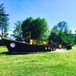 Giochi per bambini al Parco Berrini di Ternate