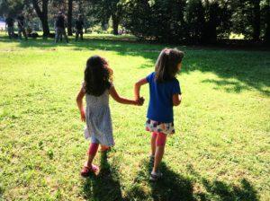 bambine al parco berrini di ternate